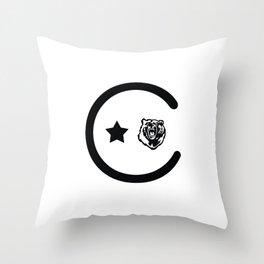 California Icons Throw Pillow