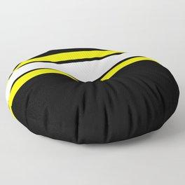 Team Colors 2..yellow Floor Pillow