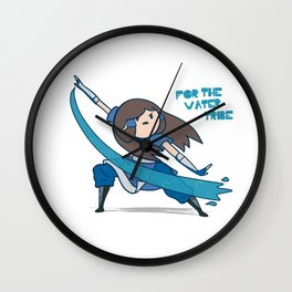 For the Water Tribe ! Wall Clock