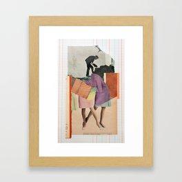 Devotion Framed Art Print