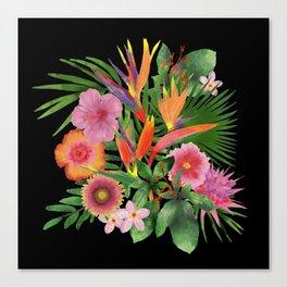 My Tropical Backyard Canvas Print