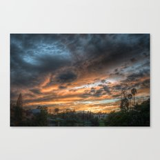 Vista (the sky is source of great beauty) Canvas Print