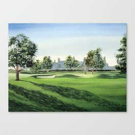 Winged Foot Golf Course New York Canvas Print