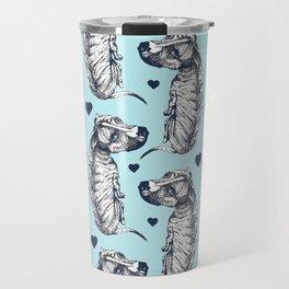 Brindle Dog Love Travel Mug