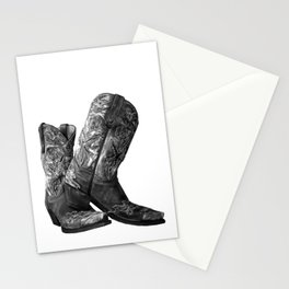 Knockout Cowgirl Boots Stationery Cards