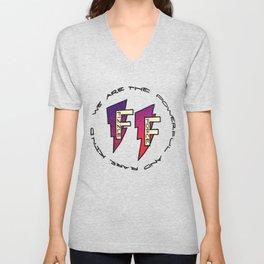 Fizzle Force Logo Unisex V-Neck