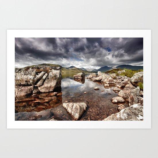 Rannoch Moor  Scotland Art Print