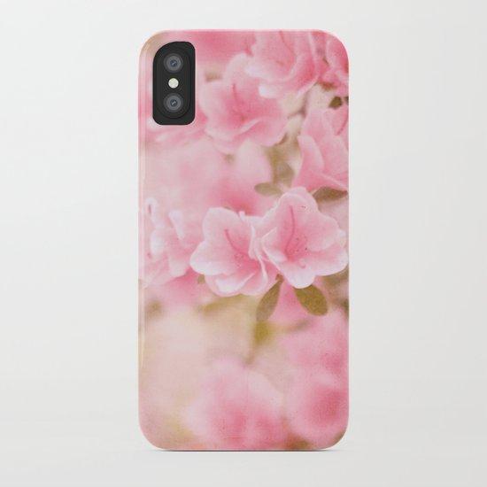 Thinking Springtime iPhone Case