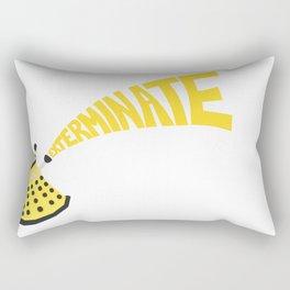Exterminate Rectangular Pillow