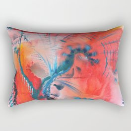 Joyous Lines Rectangular Pillow