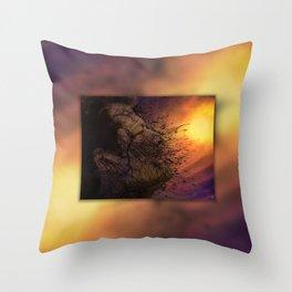 Leviathan Sunset Throw Pillow