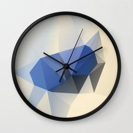 Cremeblue Wall Clock