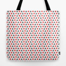 Ahoy shipmates, some funky Pirate hearts goodies for you! Tote Bag