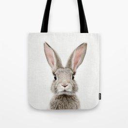 Bunny Portrait Tote Bag