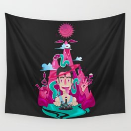 The Puppeteer Wall Tapestry