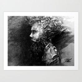 تجاوز Art Print