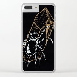 Crystal Widow Clear iPhone Case