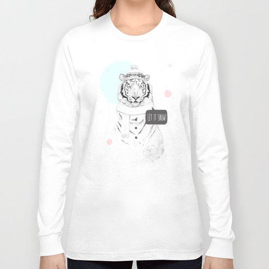 Snow tiger Long Sleeve T-shirt