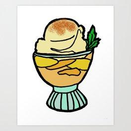 Peach Cobbler - Georgia Art Print
