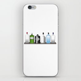 Gin Bottles iPhone Skin