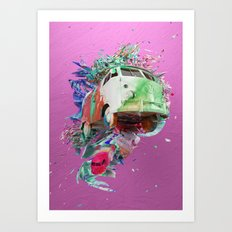 Colour Form & Expression #5 Art Print