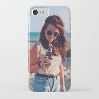 coca cola iPhone & iPod Cases featuring coca cola by Millie Clinton
