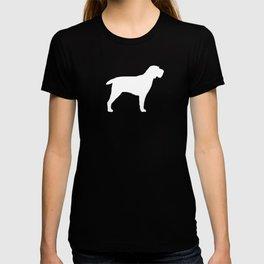 White Spinone Italiano Silhouette T-shirt