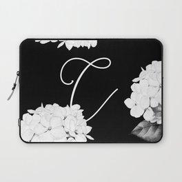 """Custom Bridesmaid Letter """"C"""" Laptop Sleeve"""