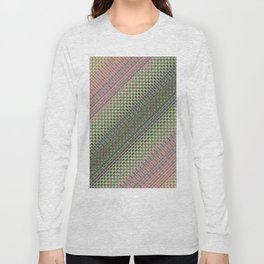54466666 + Sin(Cos(Sin(i × j + n + k))) × 234466    [Pattern Green Rug] Long Sleeve T-shirt