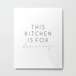 Printable Wall Art,Printable Quotes,Kitchen Wall Art, Kitchen Art,Kitchen Prints,Kitchen Wall Decor Metal Print