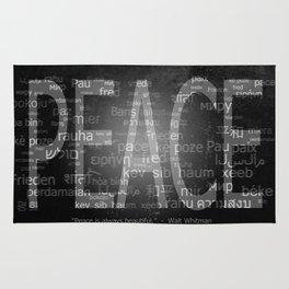 Peace is Always Beautiful Rug