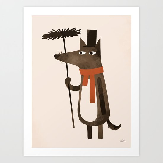 Chimley the Sweep Art Print