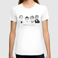 vampire weekend T-shirts featuring Vampire Weekend by ☿ cactei ☿