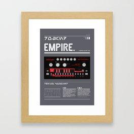 303_EMPIRE MASTER Framed Art Print