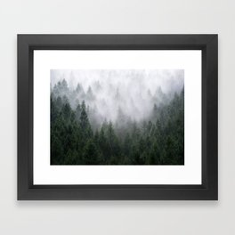 Home Is A Feeling Framed Art Print