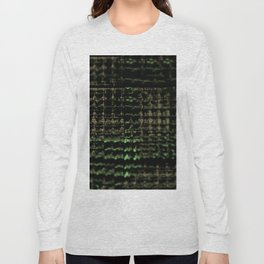Intricate pattern web bright network element futuristic background Long Sleeve T-shirt