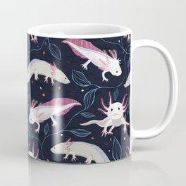 Axolotls/Mexican walking fish Coffee Mug