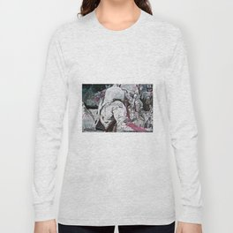 All my friends/Lost on the moon Long Sleeve T-shirt