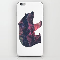 Bear - Geometric Galaxy iPhone & iPod Skin