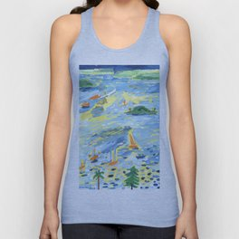 A Lovely Day on the Bay Unisex Tank Top