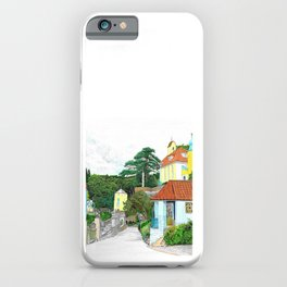 Impressions of Portmeirion 2 iPhone Case