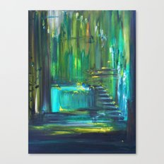 Ascension to Emerald City Canvas Print