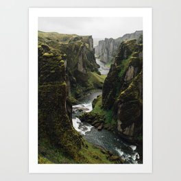 Iceland Collection II Art Print
