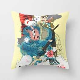 Here I am - Crom Throw Pillow