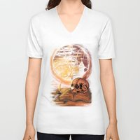 philosophy V-neck T-shirts featuring Philosophy by Cycoblast Artwork