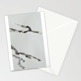 DETERIORATION OF A TWIG Stationery Cards