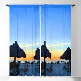 Bradenton Florida Sunset Blackout Curtain