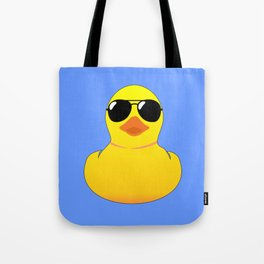 Cool Rubber Duck Tote Bag