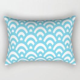 Wave Pattern Rectangular Pillow