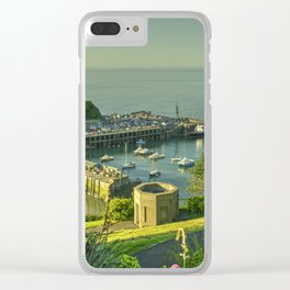Ilfracombe Harbour Summer Clear iPhone Case